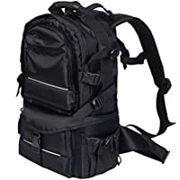 Giantex Black Deluxe Camera Backpack Bag Case Sony Canon Nikon Dslr SLR Multifunctional
