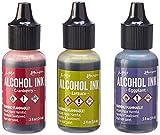 #4: Ranger Adirondack Alcohol Ink 1/2-Ounce 3/Pkg, Farmers Market, Cranberry/Lettuce/Eggplnt
