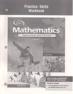 Il mathematics applications and concepts course 2 student edition mathematics applications and concepts course 2 practice skills workbook fandeluxe Choice Image