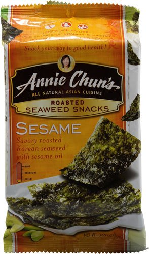 Annie Chun's Roasted Seaweed Snacks Sesame -- 0.35 oz - 2 pc