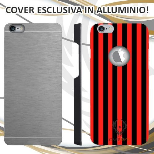 CUSTODIA COVER CASE MILAN PER IPHONE 6 6S IN ALLUMINIO