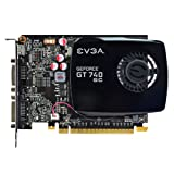 EVGA GeForce GT 740 Superclocked Single Slot 4GB DDR3 Graphics Cards 04G-P4-2744-KR