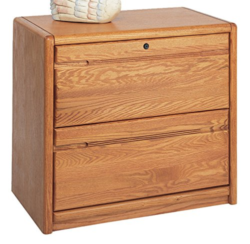 - Martin Furniture Contemporary 2 Drawer Lateral File Cabinet, Fully Assembled