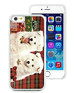 Hot Sell iPhone 6 Case,Christmas Doggies White iPhone 6 4.7 Inch TPU Case 1