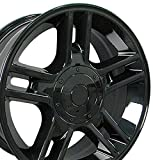 99 ford expedition rims - 20x9 Wheels Fit Ford Trucks - F-150 Harley Style Rims - Black - SET