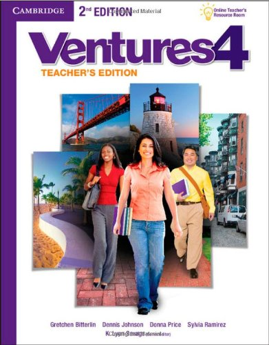 Ventures Level 4 Teacher's Edition with Assessment Audio CD/CD-ROM Assessment Cd
