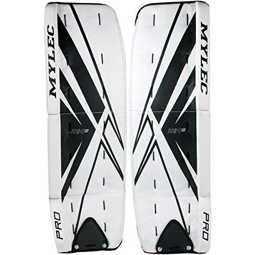Mylec Ultra-Lite 7000 Goal Pads (White, 32-Inch ()