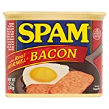 Hungry Jack SPAM with Real Hormel Bacon Canned Meat, 12 oz (Pack of 3)
