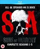 Sons of Anarchy-Seasons 1-5 [Blu-ray]