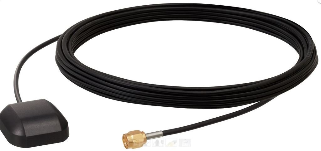 Trimble 66800-52-SP: 3 Volt Magnetic Mount GPS Antenna with SMA connector