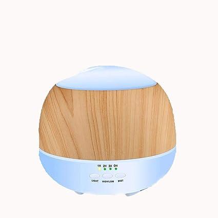Y-YT Difusor de Aroma Purificador de Aire de Mudo Aroma humidificador Luz ultrasónico para