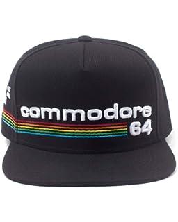 a983e8164fd Bioworld Commodore 64 Embroidered Full Rainbow Logo Snapback Baseball Cap