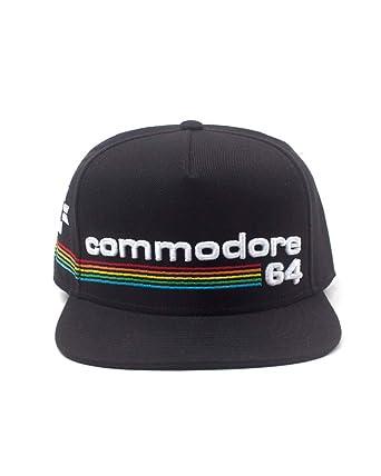 8588676e15963 Bioworld Commodore 64 Embroidered Full Rainbow Logo Snapback Baseball Cap