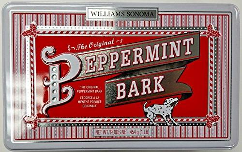Williams-Sonoma Peppermint Bark 1 Pound Tin