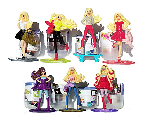4psc RANDOM Barbie in shells + liner doll 2.5 inch Toys From
