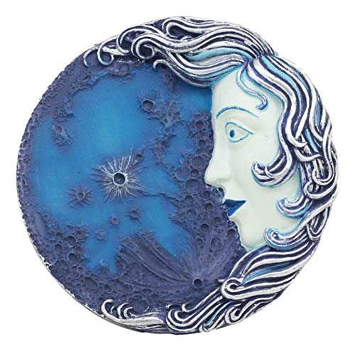 - Ebros Luna Selene Moon Goddess Decor Wall Plaque 5.25