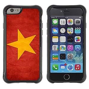 Suave TPU GEL Carcasa Funda Silicona Blando Estuche Caso de protección (para) Apple Iphone 6 / CECELL Phone case / / National Flag Nation Country Vietnam /