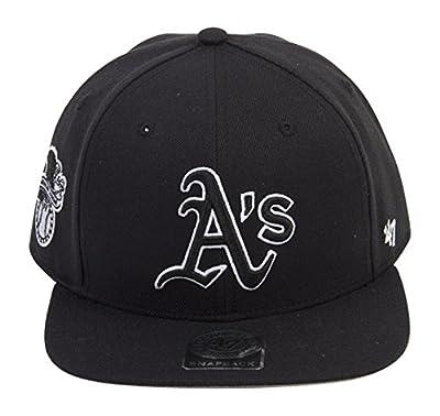 Oakland Athletics Black 47 Brand Sure Shot Snapback Hat