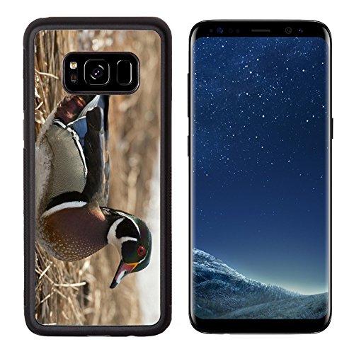 Liili Premium Samsung Galaxy S8 Aluminum Backplate Bumper Snap Case Drake Wood Duck 27886006
