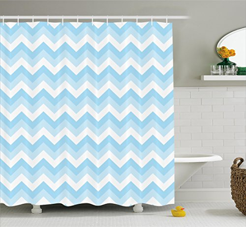 extra long fabric shower curtain - 9