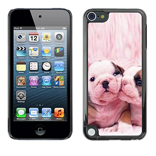 Slim Protector Shell Hard Case Cover for Apple iPod Touch 5 French Bulldog Cute Pink Love Dogs / STRONG (French Bulldog 6plus Case compare prices)