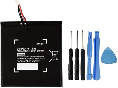 MPF Products 4310mAh HAC-003 batería de Repuesto Compatible con Nintendo Switch HAC-001 con Herramientas de instalación: Amazon.es: Electrónica