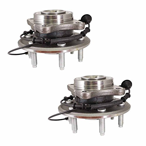 Longgo HU541001 New Axle Wheel Hub and Bearing Assembly Rear Left and Right (Set of - Bearing Ford Axle Expedition