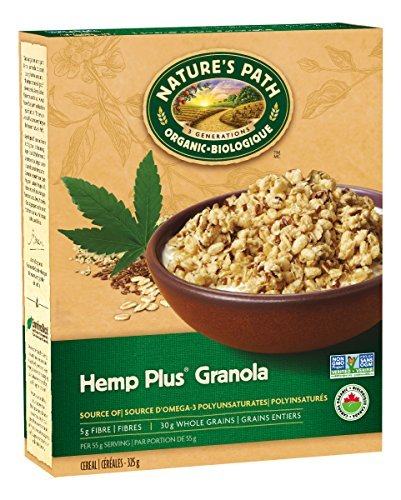 (Nature's Path Organic Hemp Plus Granola Cereal, 11.5 oz, 6 Pack by Nature's Path)