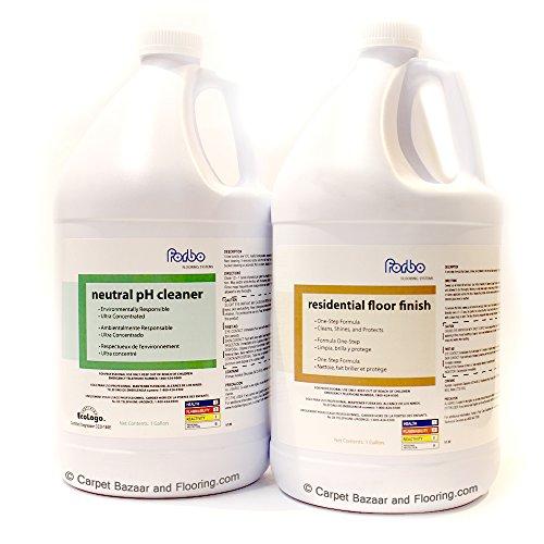 Forbo Marmoleum Linoleum Floor Cleaner (Gallon) and Marmoleum Residential Floor Finish - Floor Marmoleum Finish