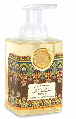 Michel Design Works Foaming Hand Soap, 17.8-Ounce, Sandalwood Spice