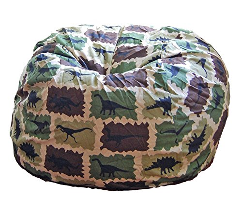 Ahh! Products Dinosaurs Camouflage Washable Large Bean Bag Chair by Ahh! Products