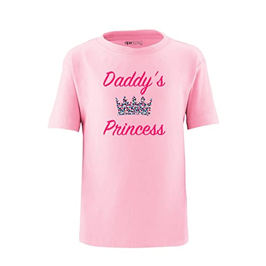 c0c818218a96 Amazon.com  Apericots Cute Daddy s Princess Girls Design With ...