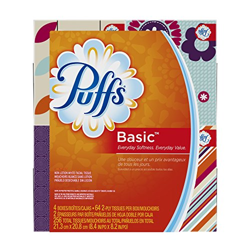 Puffs Basic Facial Tissues Boxes product image
