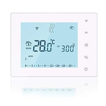 Beok BOT-X306 Termostato inalámbrico programable para caldera de ...