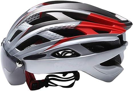 VHFIStj Casco de Bicicleta Ciclismo Ligero Estándar de ...