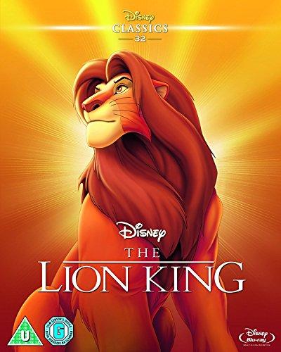 The Lion King (Limited Edition Artwork Sleeve) [Blu-ray] [Region Free]