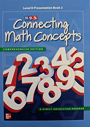 - SRA Connecting Math Concepts Level D Presentation Book 2, Common Core, 9780021036172, 0021036179
