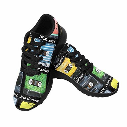 Scarpa Da Jogging Leggera Da Donna Running Running Leggera Easy Walk Casual Comfort Da Corsa Scarpe Audio Cassette Modello Multi 1