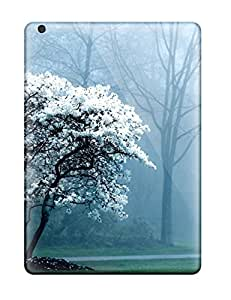 Ipad Covers Cases - White Magnolia Tree Protective Cases Compatibel With Ipad Air
