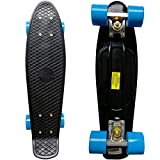 RIMABLE Complete 22'' Skateboard BlackBlue