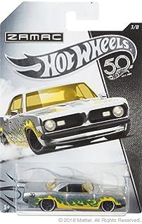 HW Hotwheels 50th Anniversary ZAMAC FRN26 – 1968 Plymouth Barracuda Formula S 3/8