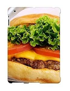 Defender Case For Ipad 2/3/4, Shake Shack London Shackburger Pattern, Nice Case For Lover's Gift