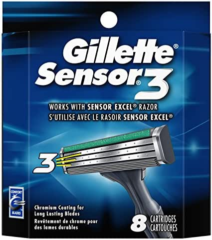 Razor Blades: Gillette Sensor 3