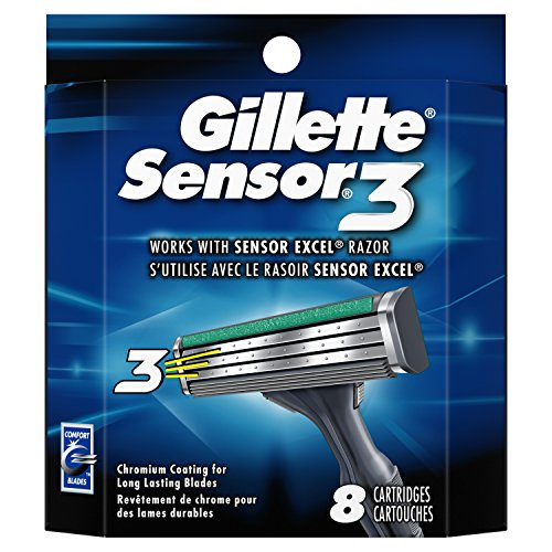 Gillette Sensor3 Disposable Cartridge, 8 Count