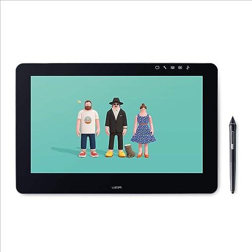 Wacom Cintiq Pro 16 DTH Pantalla Creativa Interactiva Full HD con lápiz 16 Pulgadas Negro Matte