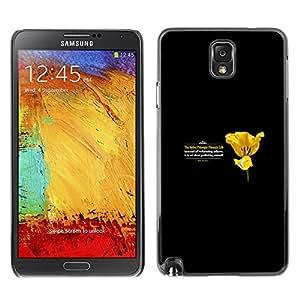 Stuss Case / Funda Carcasa protectora - PRINCIPIO DE LA VIDA - Samsung Note 3 N9000