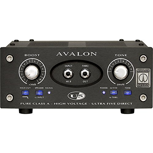 Avalon U5 15th Anniversary Edition Direct Box (Black) by Avalon