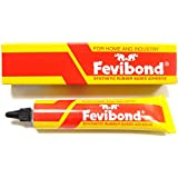 Fevibond Synthetic Rubber Base Glue Adhesive Canvas Cork Rexine Leather Shoe Sole Glue 20ml