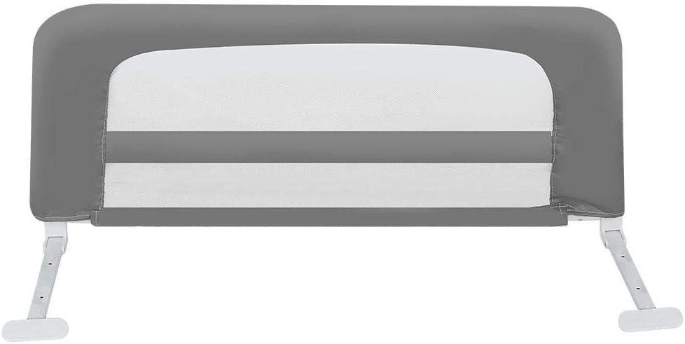 EBTOOLS Barri/ère de lit r/églable pour Enfant 100 cm Beige