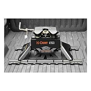 Curt Fifth Wheel Hitch >> Amazon Com Curt 16130 Q20 Black 5th Wheel Hitch 20 000 Lbs Gtw